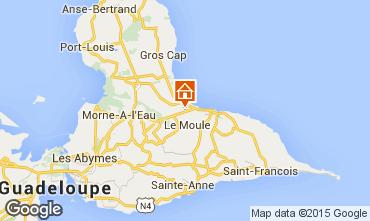 Map Le Moule Villa 90491