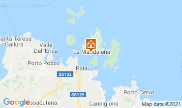 Map La Maddalena One-room apartment 87021