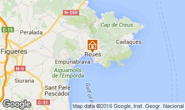 Map Rosas Apartment 102234