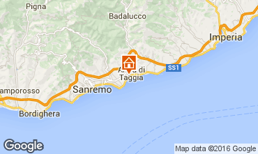 Map Taggia Apartment 71263