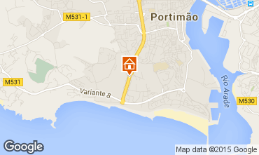 Map Praia da Rocha Apartment 68992