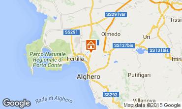 Map Alghero House 94774