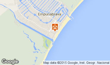 Map Empuriabrava Apartment 68823