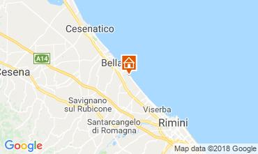 Map Bellaria Igea Marina Apartment 82153