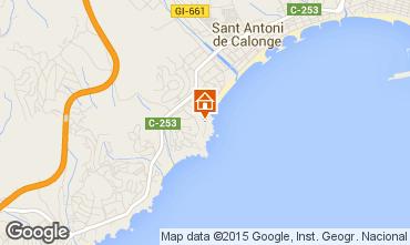 Map Sant Antoni de Calonge Apartment 94441