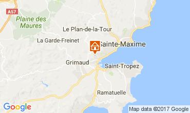 Map Port Grimaud House 70377