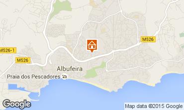 Map Albufeira Apartment 70872