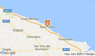 Map Ostuni Apartment 109471