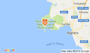 Map Alghero House 61277