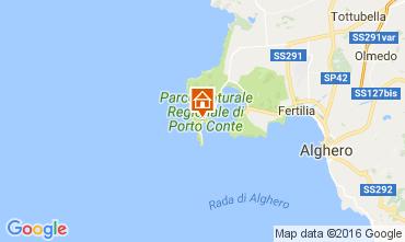 Map Alghero House 61277