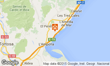 Map La Ametlla de Mar Chalet 102063