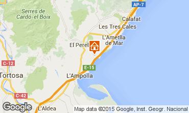 Map La Ametlla de Mar Chalet 102063