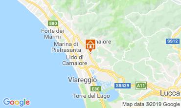 Map Camaiore Villa 107102