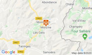 Map Morzine Apartment 27838