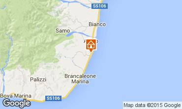 Map Brancaleone Apartment 72346