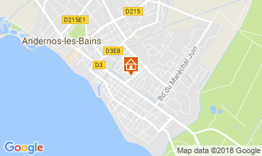 Map Andernos les Bains House 115334