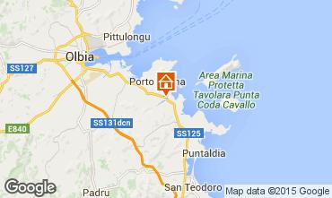 Map Porto San Paolo Apartment 77686