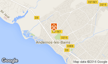 Map Andernos les Bains House 55736