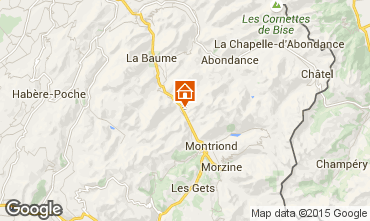 Map Morzine Chalet 1952