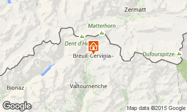 Map Cervinia (Breuil) Apartment 28644