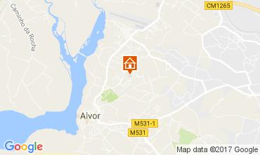 Map Alvor Apartment 110290