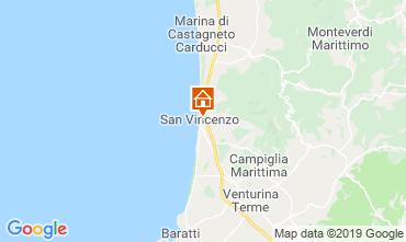 Map San Vincenzo Apartment 119113
