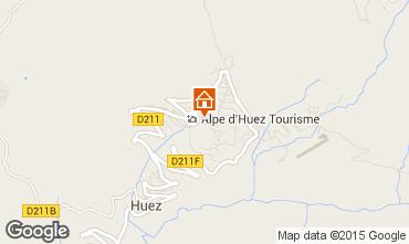 Map Alpe d'Huez Apartment 28869