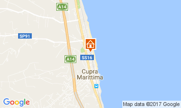 Map Cupra Marittima Apartment 108823