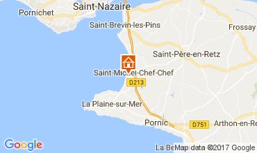 Map Saint Michel Chef Chef Vacation rental 112642