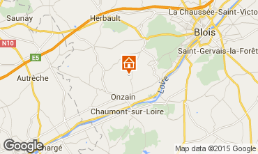 Map Blois Mobile home 97235