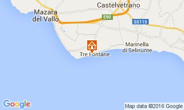 Map Tre Fontane Apartment 104069