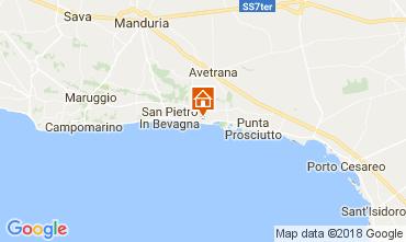Map San Pietro in Bevagna Apartment 113229