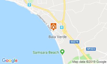 Map Gallipoli Apartment 95624