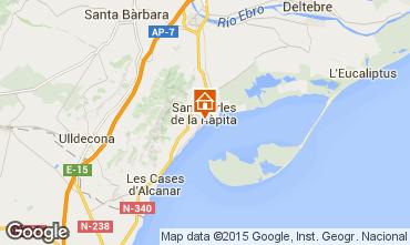 Map San Carlos de la Rápita Apartment 50351