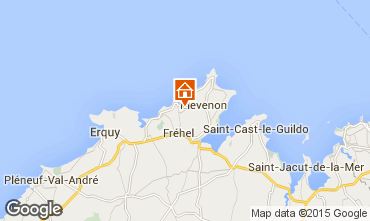 Map Frehel Vacation rental 68870