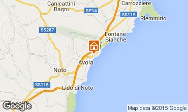 Map Avola Villa 79539