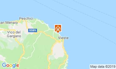 Map Vieste Apartment 94198