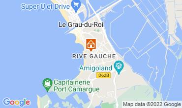 Map Le Grau du Roi Apartment 114395