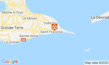 Map Saint Francois One-room apartment 67507