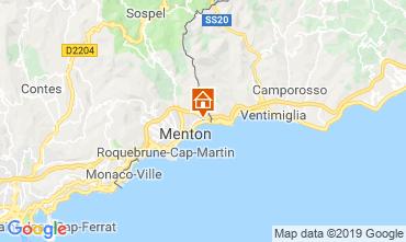 Map Menton Apartment 116149