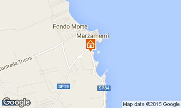 Map Marzamemi Apartment 64290