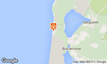 Map Biscarrosse House 6543