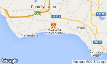 Map Castelvetrano Selinunte Apartment 64171