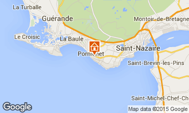 Map La Baule House 64425