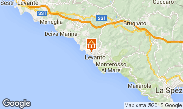 Map Levanto Villa 100451