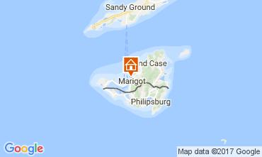 Map Marigot One-room apartment 108428