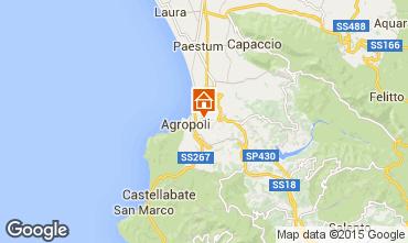 Map Agropoli Villa 62652