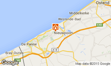 Map Nieuwpoort Apartment 9584