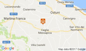 Map Ostuni Villa 109481