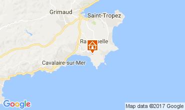 Map La Croix Valmer Villa 111829